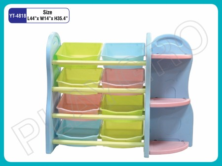 Multipurpose Shelves - With - 7- Multicolor - Shelves Indoor School Play Essentials Delhi NCR