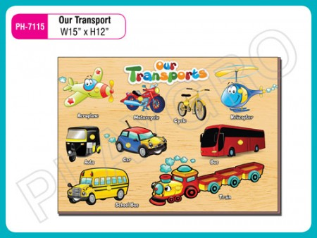 Our Transports Activity Toys Delhi NCR