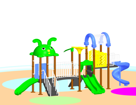 Parkland Adventure Centre Outdoor Play Equipments Delhi NCR