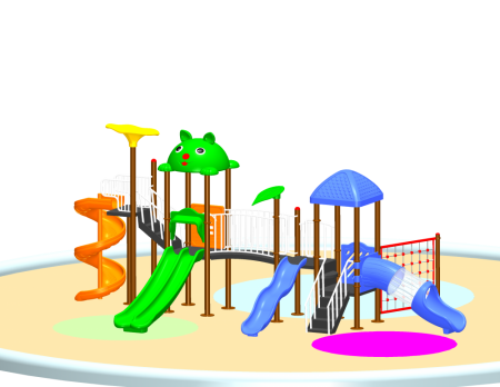 Parkland Adventure Centre Sr. Outdoor Play Equipments Delhi NCR