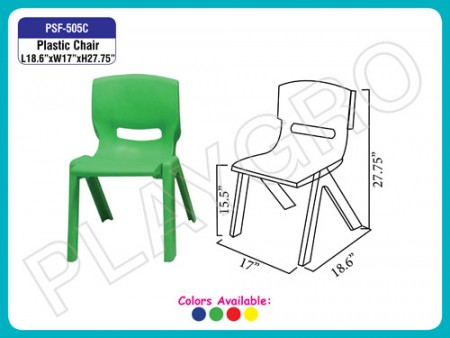 Plastic Chair Green Junior School Furniture Delhi NCR