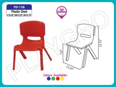 Plastic Moulded Chair School Furniture Delhi NCR