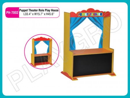 Puppet Theater Role Play House Blue Activity Toys Delhi NCR