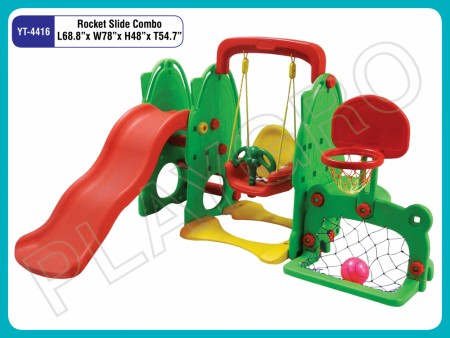 Rocket Slide Combo Indoor Play Equipments Delhi NCR