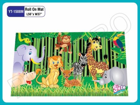 Roll On Mats - Wild - Animals Play Mats Delhi NCR