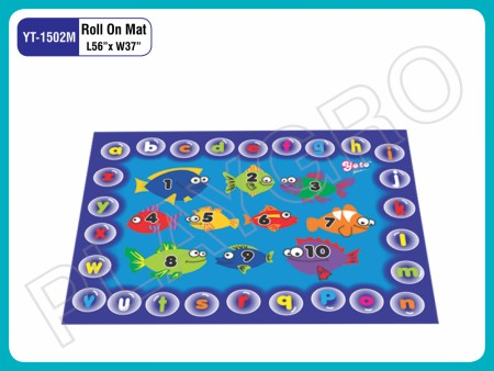Roll On Mats - With - Alphabets Play Mats Delhi NCR