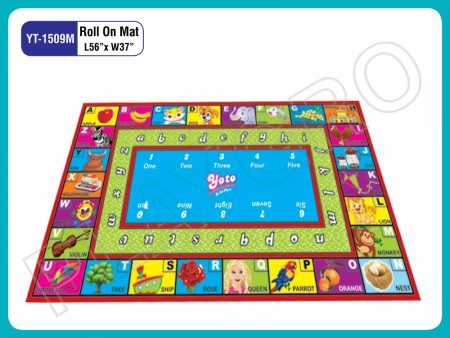 Roll On Mats - With - Alphabets - N - Images Play Mats Delhi NCR