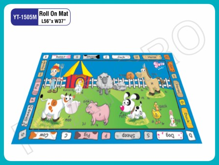 Roll On Mats - With - Animals - Image Play Mats Delhi NCR