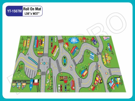 Roll On Mats - With - Street Play Mats Delhi NCR