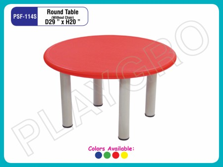 Round Table (S) Red Junior School Furniture Delhi NCR