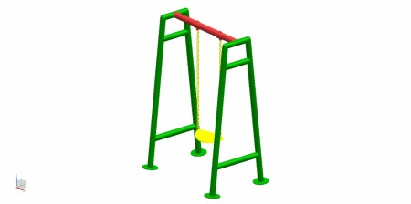 Single Seater Swing Outdoor Play Equipments Delhi NCR