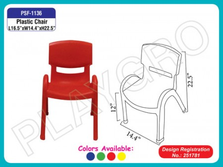 Smart Chair (30Cm) Junior School Furniture Delhi NCR