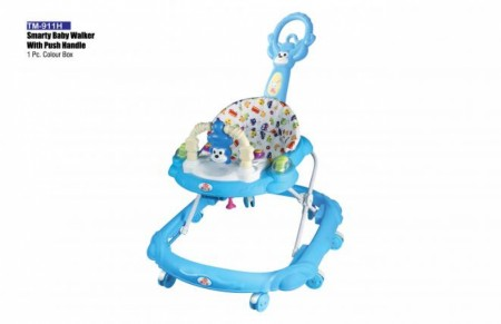 Smarty Baby Walker With Push Handle Sky Blue Walker Delhi NCR