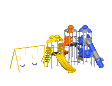 Space Ship Playzone Outdoor Play Equipments Delhi NCR