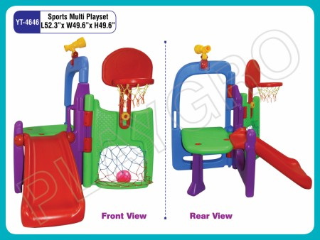 Sports Multi Playset Indoor Play Equipments Delhi NCR