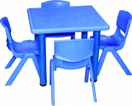 Square Table Junior School Furniture Delhi NCR