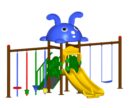 Step N Swing Maxi Centre Outdoor Play Equipments Delhi NCR