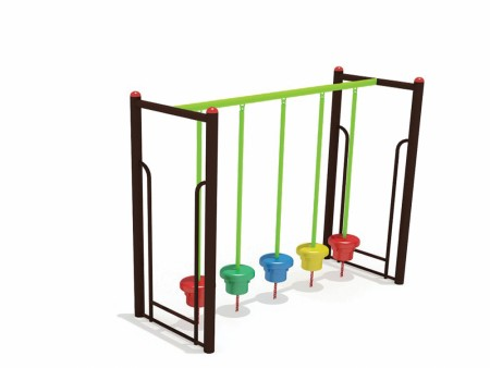 Stepper Green N Brown Outdoor Play Equipments Delhi NCR