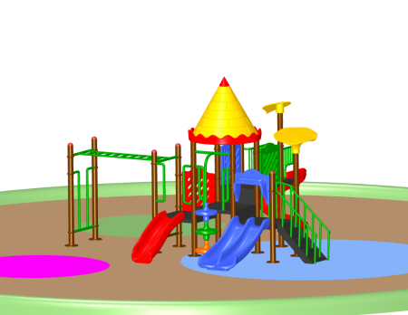Super Castle Palace Outdoor Play Equipments Delhi NCR