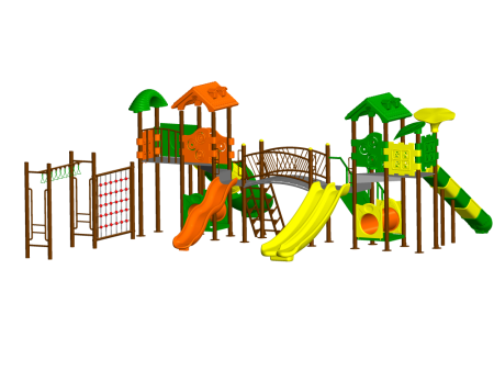 Super Max Playzone Outdoor Play Equipments Delhi NCR