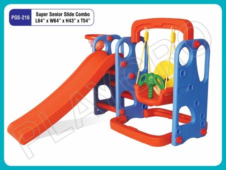 Super Sr. Slide Combo Indoor Play Equipments Delhi NCR