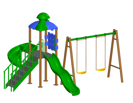 Super Swing Playcenter Outdoor Play Equipments Delhi NCR