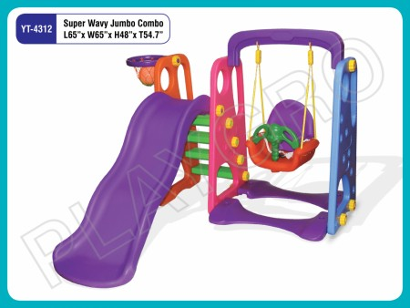 Super Wavy Jumbo Combo Indoor Play Equipments Delhi NCR