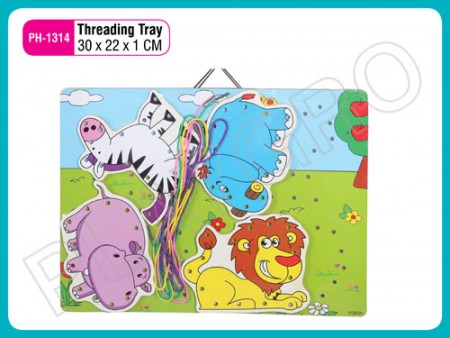 Threading Tray Activity Toys Delhi NCR