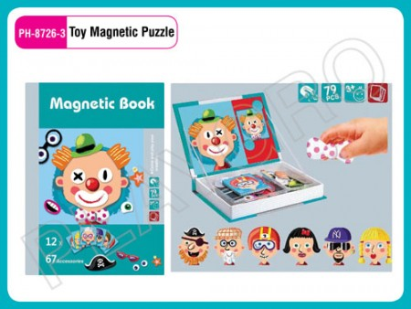 Toy Magnetic Puzzle Clown Activity Toys Delhi NCR