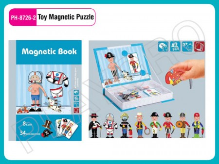 Toy Magnetic Puzzle Workman Activity Toys Delhi NCR