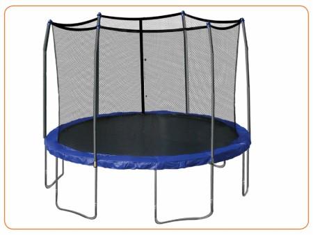 Trampoline-144 (With-Safety-Net) Indoor School Play Essentials Delhi NCR