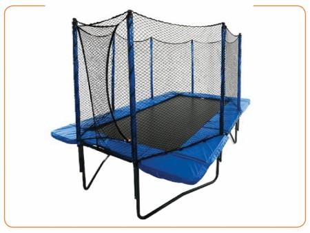 Trampoline (Blue And Green) Indoor School Play Essentials Delhi NCR