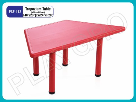 Trapezium Table Junior School Furniture Delhi NCR
