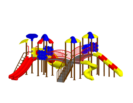 Tri Dump Playzone Outdoor Play Equipments Delhi NCR