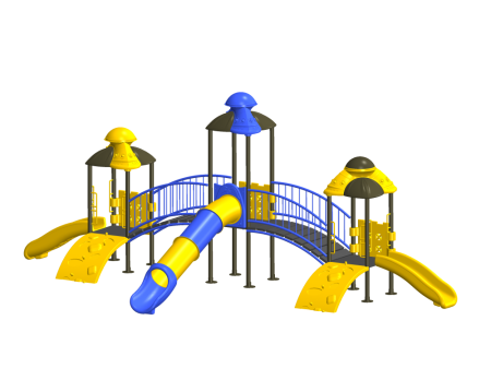 Tri House Maxi Playcentre Outdoor Play Equipments Delhi NCR