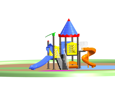 Ultra Castle Palace Outdoor Play Equipments Delhi NCR