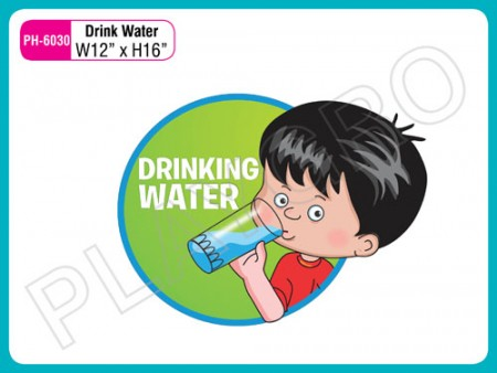 Wall Cutouts - Drinking Water - Note Activity Toys Delhi NCR
