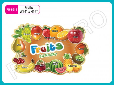 Wall Cutouts - Fruits - Images Activity Toys Delhi NCR