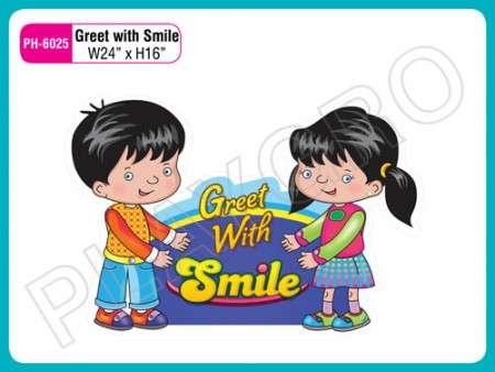 Wall Cutouts - Greet With Smile Activity Toys Delhi NCR