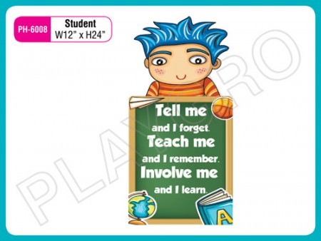 Wall Cutouts - Student(Boy) Activity Toys Delhi NCR