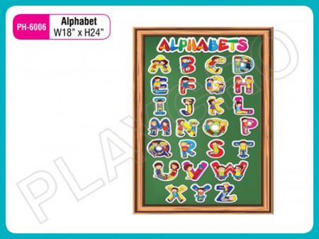 Wall Cutouts - With - Alphabets Activity Toys Delhi NCR