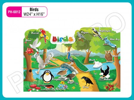 Wall Cutouts - With - Birds Activity Toys Delhi NCR