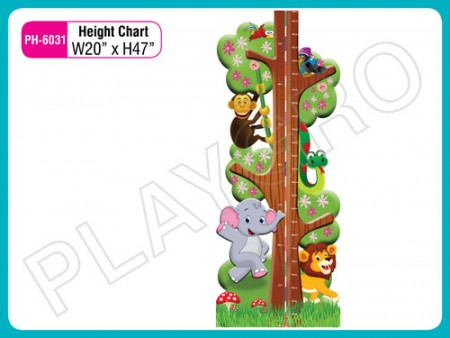Wall Cutouts - With - Height - Chart Activity Toys Delhi NCR