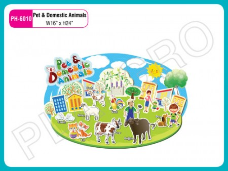 Wall Cutouts - With - Pet & Domestic - Animals Activity Toys Delhi NCR