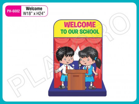 Wall Cutouts - With - welcome- Image Activity Toys Delhi NCR