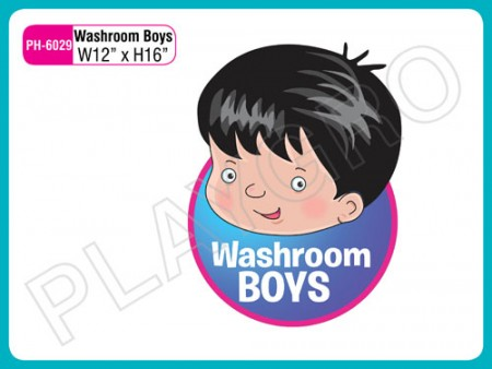 Wall Cutouts - With - Washroom Boys - Note Activity Toys Delhi NCR