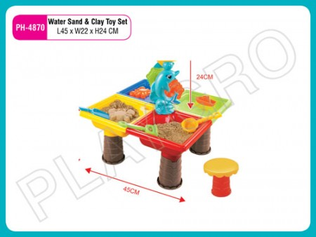 Water Sand And Clay Toy Set Activity Toys Delhi NCR