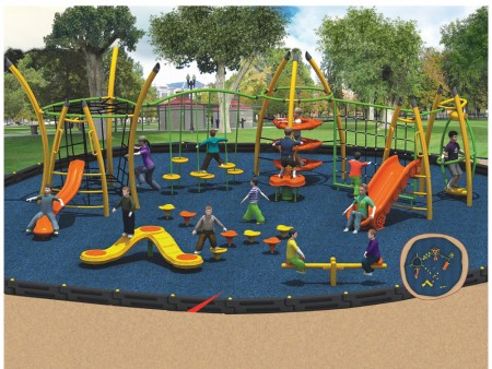 Web Scrambler Ultra Outdoor Play Equipments Delhi NCR