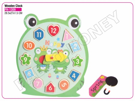 Wooden Clock Activity Toys Delhi NCR