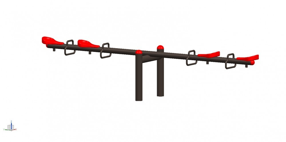 Best See Saw - Outdoor Play Equipments Manufacturer in Delhi NCR